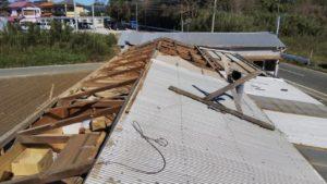 台風24号災害復旧工事で繫忙状態です!